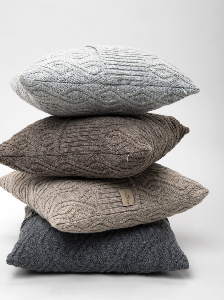 Caple wool cushion group