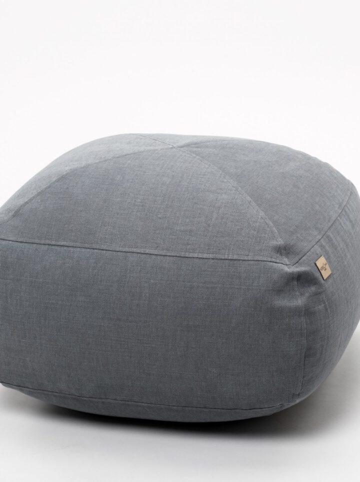 Footstool grey