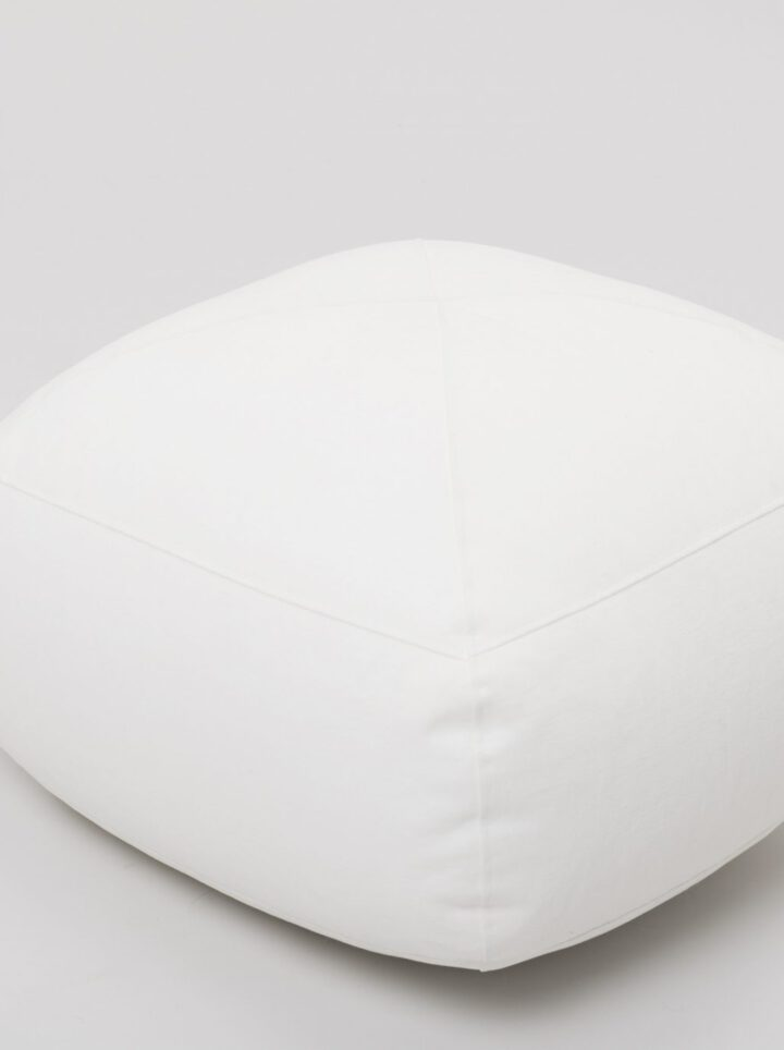 Footstool white