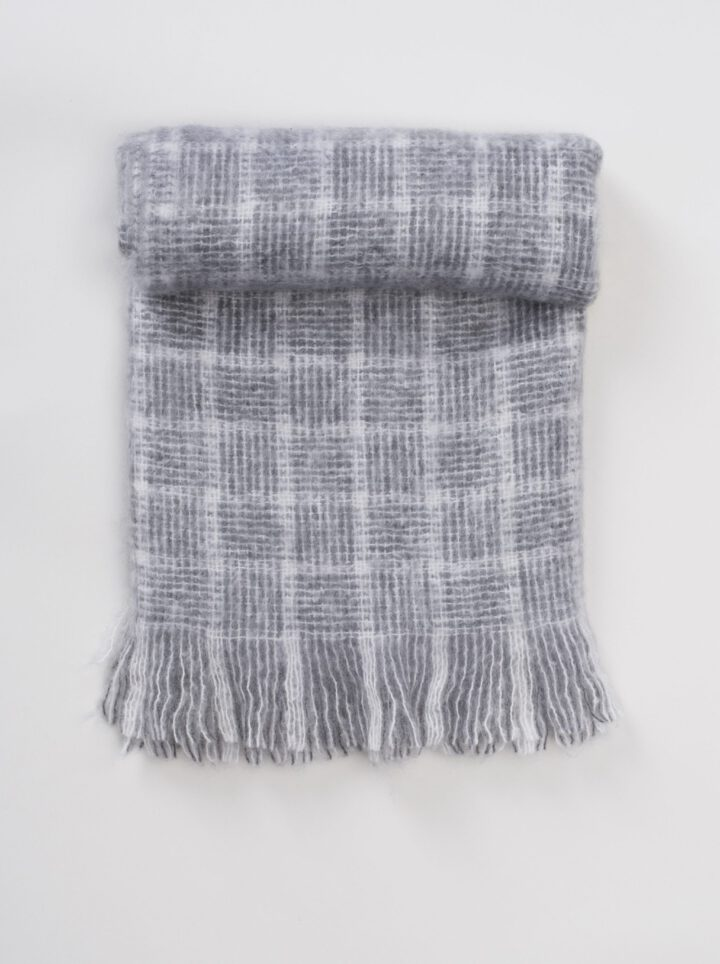 Mohair grey square